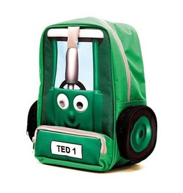 Tractor Ted TRACTOR TED GREEN SCHOOL BAG BACKPACK