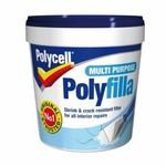 POLYCELL MULTIPURPOSE POLYFILLA 1kg TUB