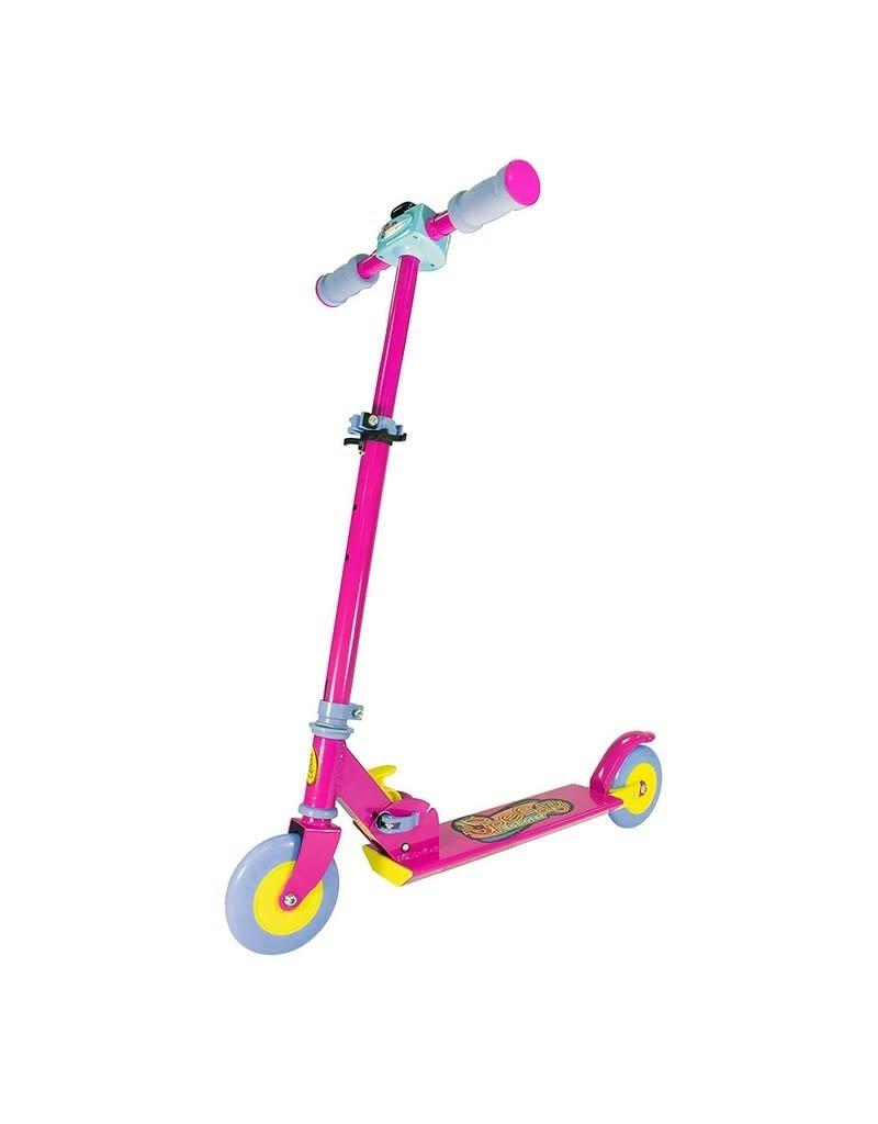 Ozbozz Speedy Folding Scooter (Pink)