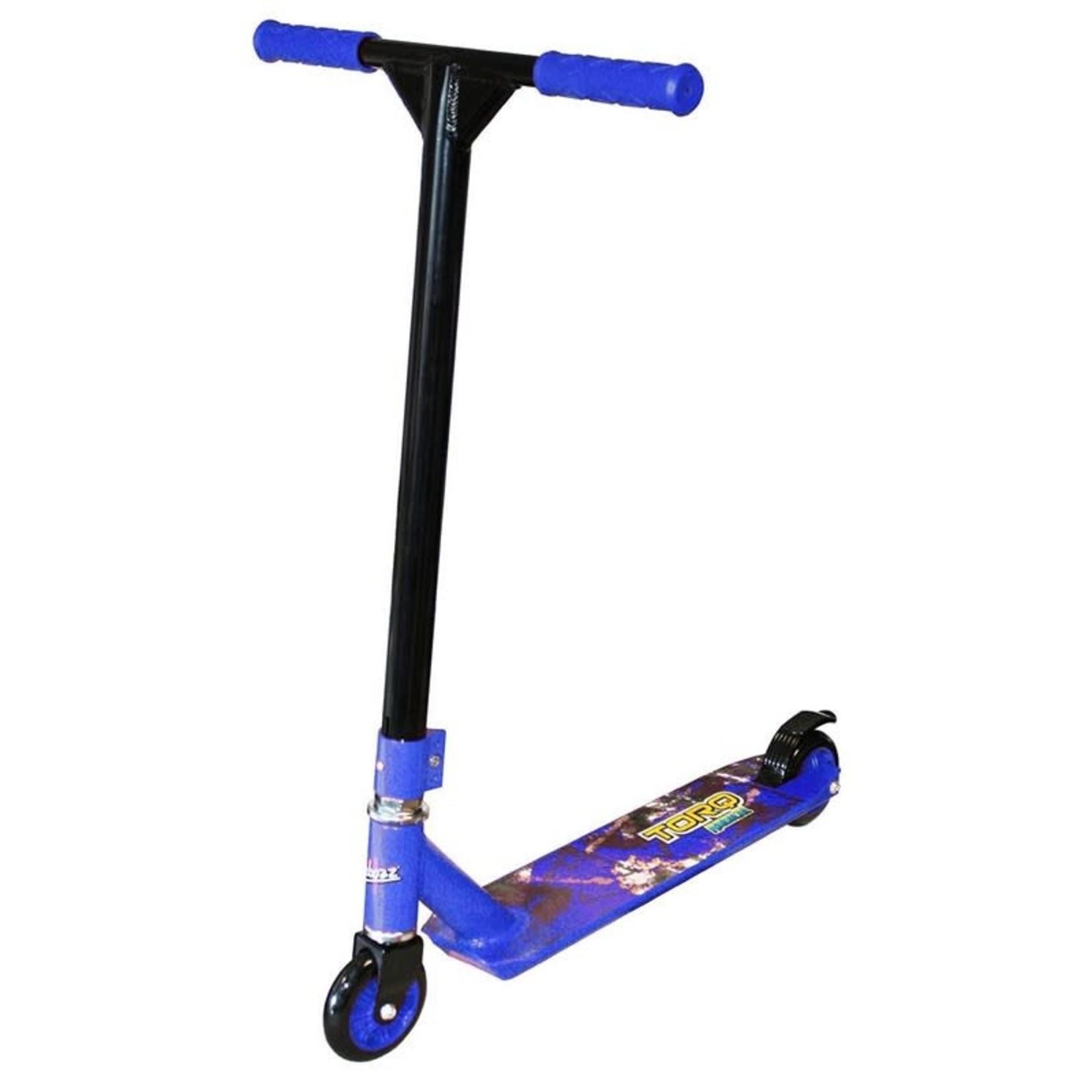 Ozbozz Torq Radical Aluminium Scooter - Black