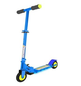 Ozbozz Lightning Strike Folding Scooter Blue and Black Folding Design SV10278