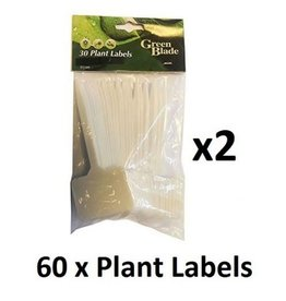 GREEN BLADE 30 PACK PLANT LABELS WITH STICKERS