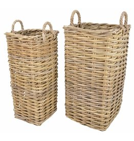 MANOR MARRIOTT RATTAN BASKET SET OF 2