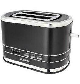 Judge Judge 800W Black 2 Slice Toaster