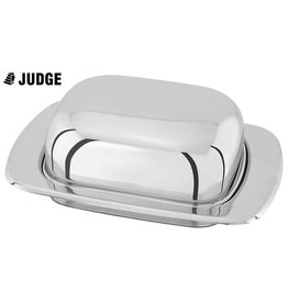 Judge Judge Chrome Domed Butter Dish