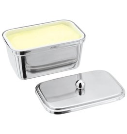 Judge Judge Chrome Butter Dish & Lid 500g