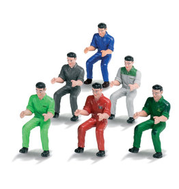Siku SIKU 1:32 SET OF 6 TRACTOR DRIVERS