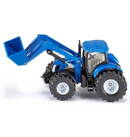 1:50 NEW HOLLAND TRACTOR WITH FRONT LOADER