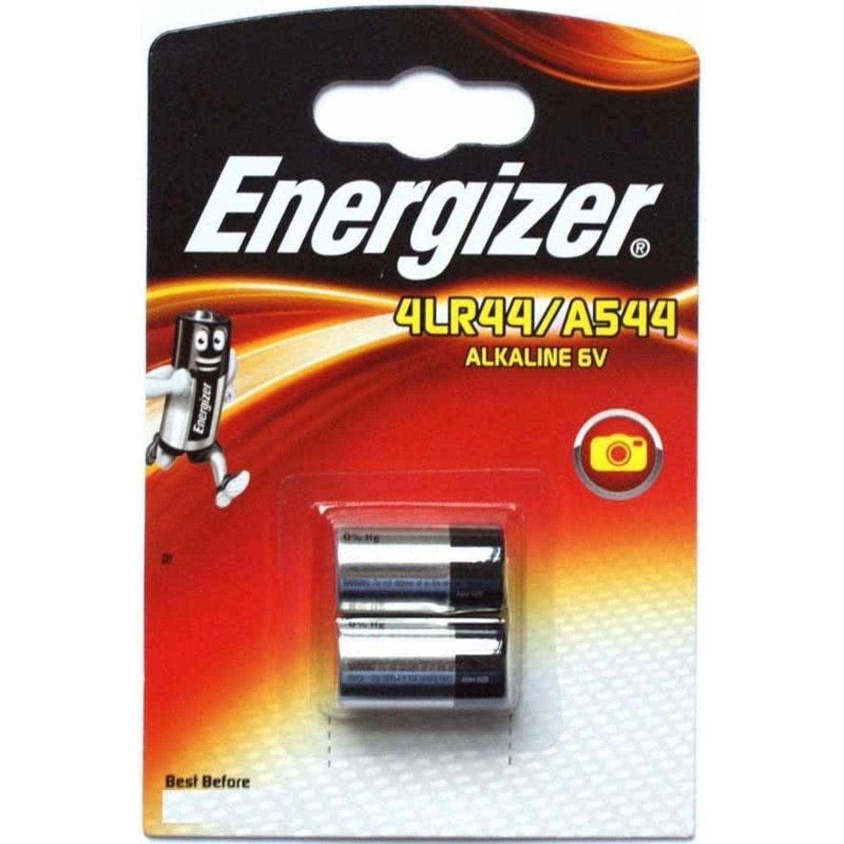 4LR44 6 VOLT ENERGIZER BATTERY 2 PACK A544