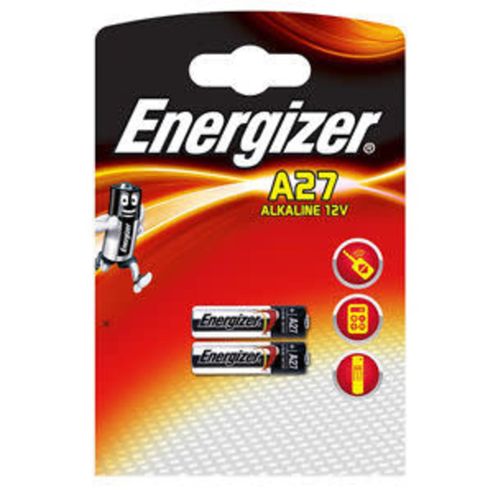 A27 12 VOLT ENERGIZER BATTERY 2 PACK