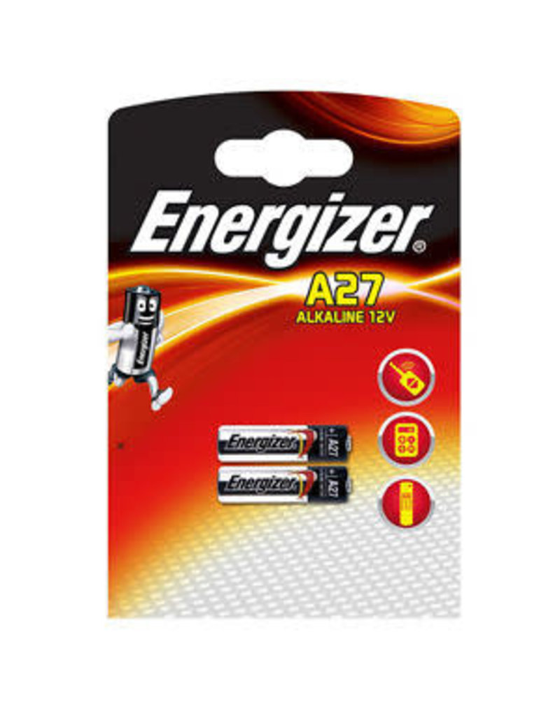 A27 12 VOLT ENERGIZER BATTERY 2 PACK