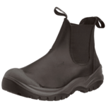 CHUKKA BOOT STEEL TOE TOECAP SAFETY BOOTS SLIP ON SIZE 43 (9) BROWN