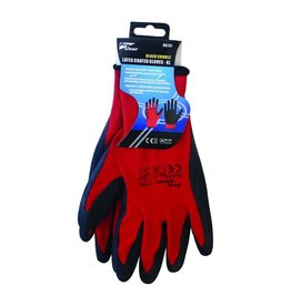 PRO USER BLACK CRINKLE LATEX COATED GLOVES - XL