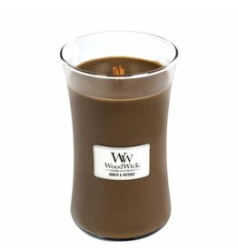 Woodwick WOODWICK AMBER AND INCENSE - LARGE CANDLE