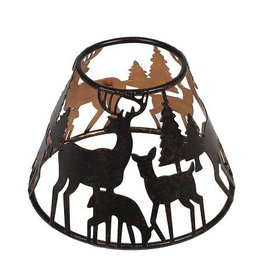 Woodwick WOODWICK GLOWING FOREST SHADE FOR LARGE JAR CANDLE