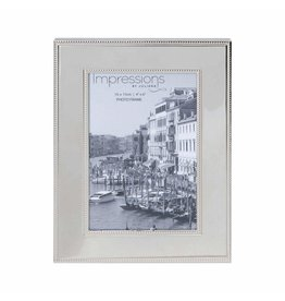 "Nickel Plated Steel Photo Frame 4"" x 6"""