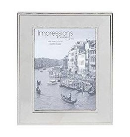 "Nickel Plated Steel Photo Frame 8"" x 10"""