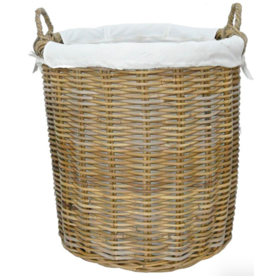 MANOR RATTAN BASKET LANGHAM - MEDIUM