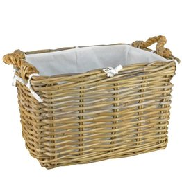 MANOR RATTAN BASKET HILTON - LARGE