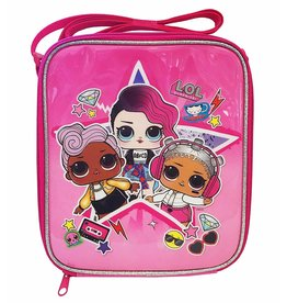 DNC LOL SURPRISE PINK ROCK COOL LUNCH BAG