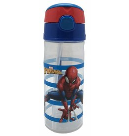MARVEL SPIDERMAN WATER TRACKER DRINKS BOTTLE - 500ML