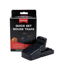 Rentokil Rentokil Quick Set Mouse Traps Twin Pack