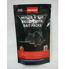 Rentokil Rentokil Mouse & Rat Killer Pasta Bait Packs - 10 Sachet