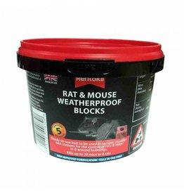 Rentokil Rentokil Mouse & Rat Weatherproof Blocks - 5 Sachet