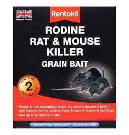Rentokil Rentokil Rodine Rat & Mouse Killer Grain Bait - 4 Sachet