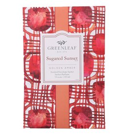 Greenleaf Suagared Sunet Scented Sachet
