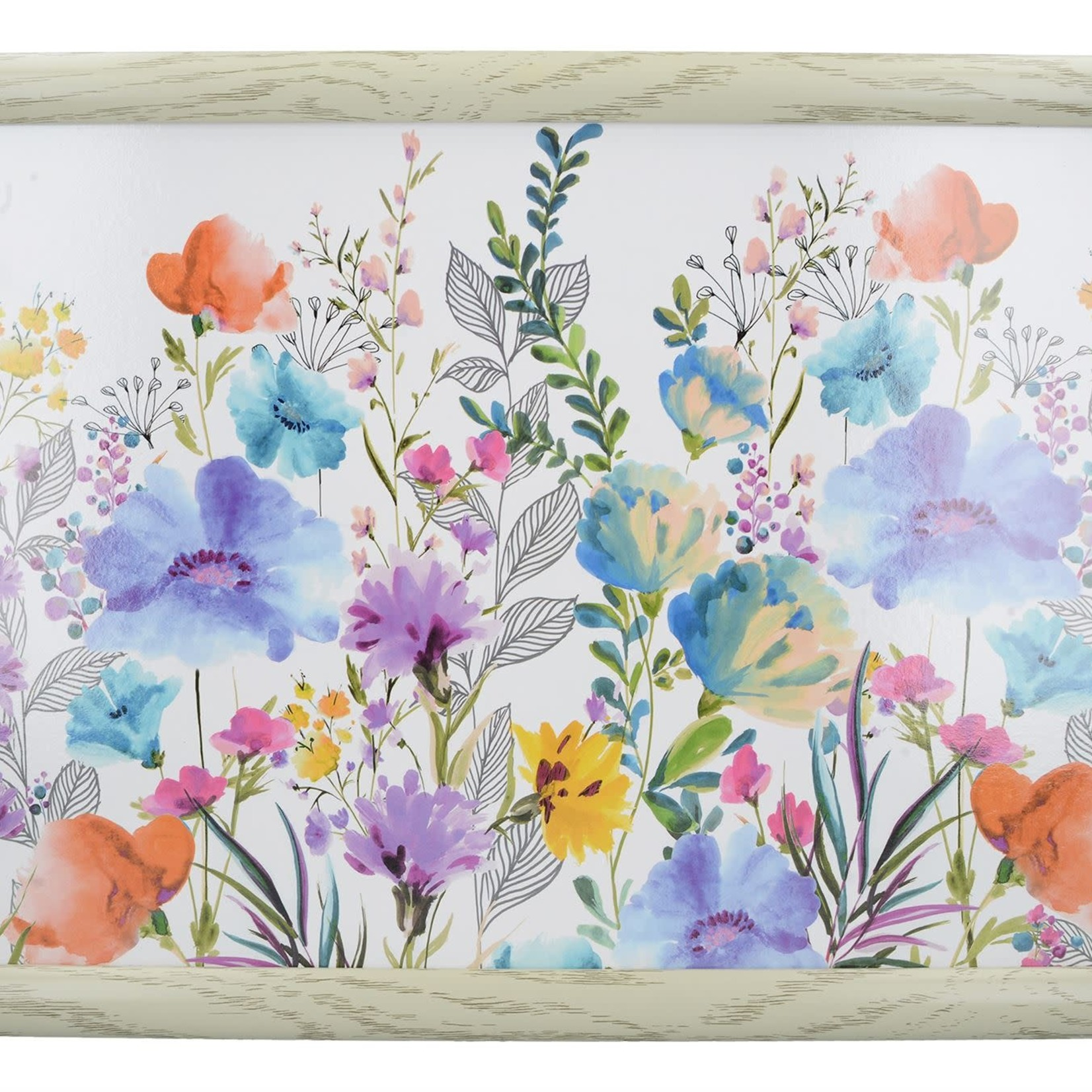 Kitchen Craft CREATIVE TOPS MEADOW FLORAL LAPTRAY