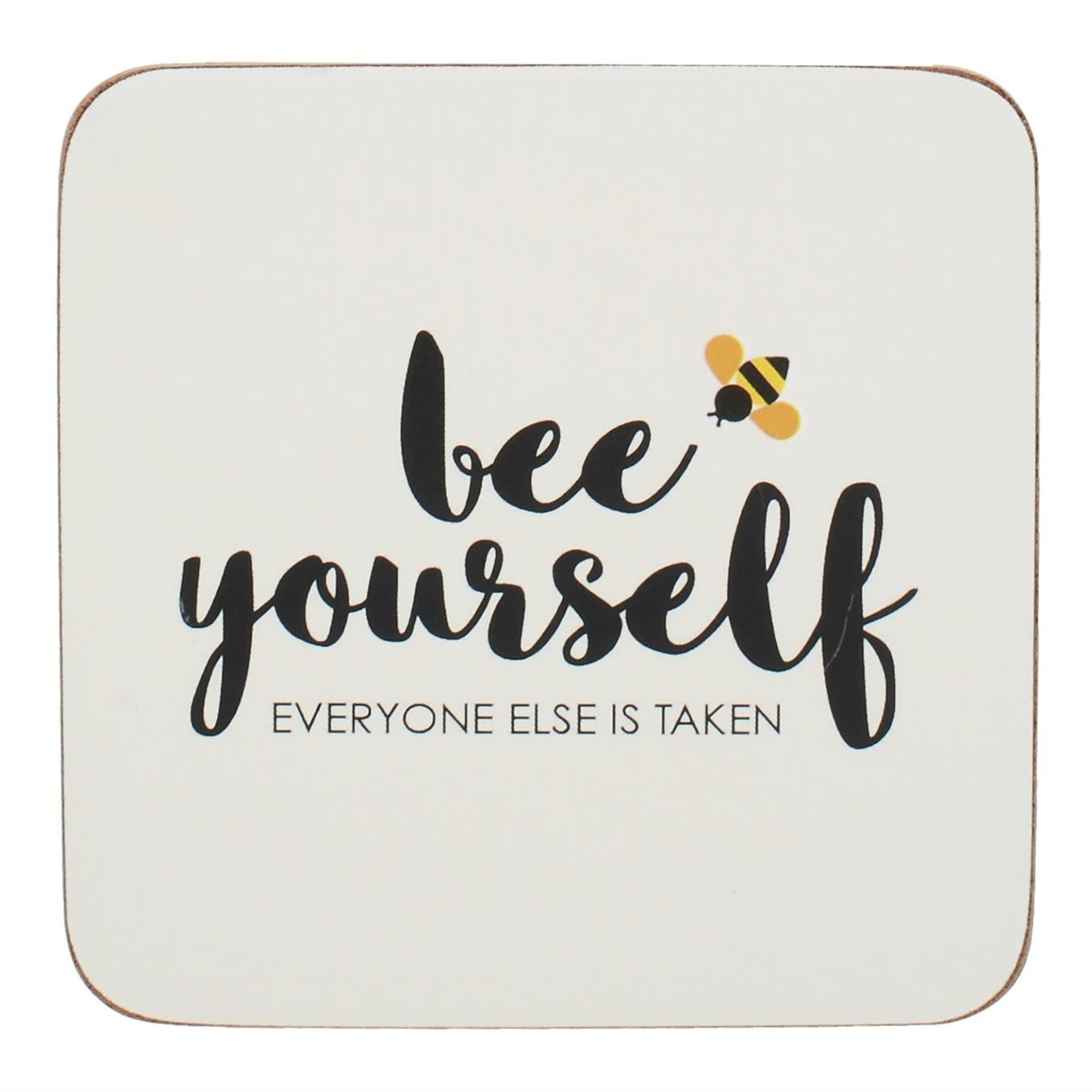 Kitchen Craft CREATIVE TOPS BEE YOURSELF SET OF 4 COASTERS