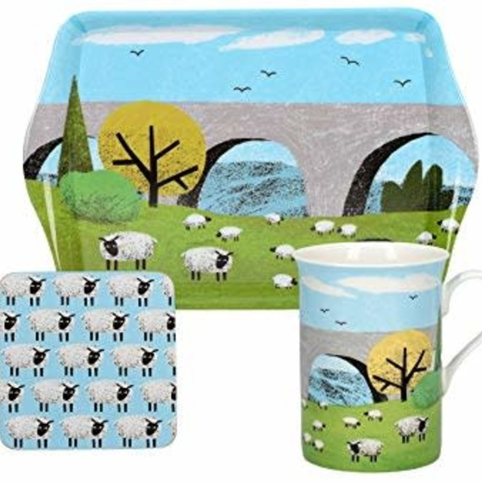 Kitchen Craft CREATIVE TOPS WOOLLY MORNINGS TIME FOR TEA