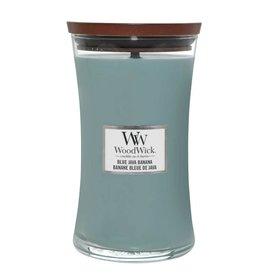 Woodwick WOODWICK BLUE JAVA BANANA LARGE CANDLE