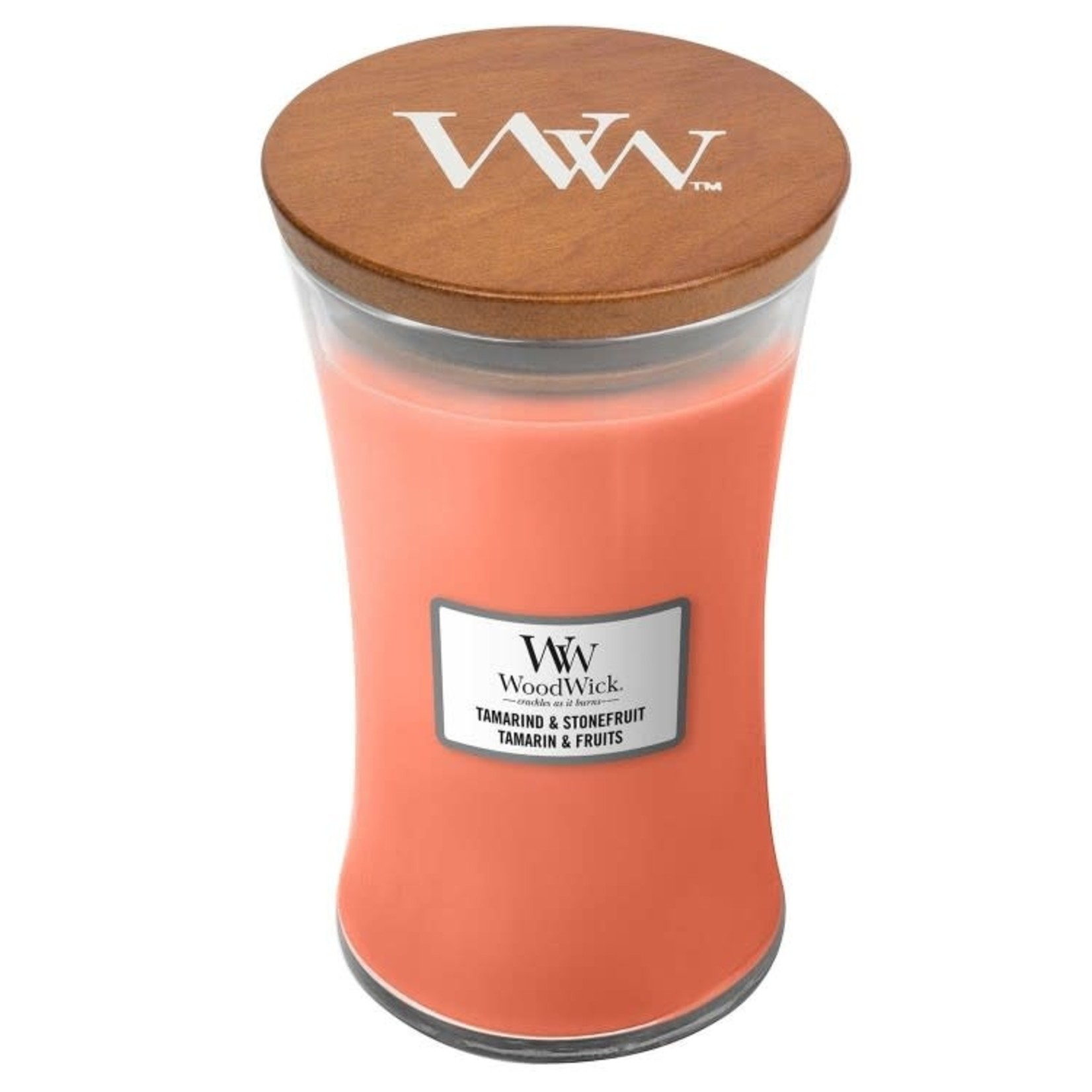 Woodwick WOODWICK TAMARIND AND STONEFRUIT LARGE CANDLE