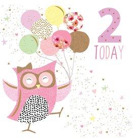 Portfolio Cards SM/2 Today Girl Owl Card