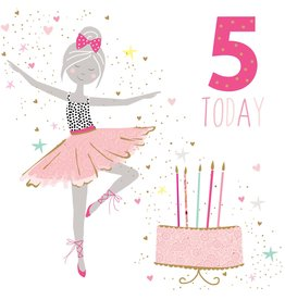 Portfolio Cards SM/5 Today Girl Ballerina Card