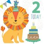 Portfolio Cards SM/2 Today Boy Lion Card