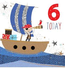 Portfolio Cards SM/6 Today Boy Pirate Card