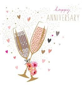 Portfolio Cards SM/Anniversary Champagne Card