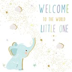 Portfolio Cards SM/New Baby Elephant Card