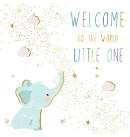Portfolio Cards SM/New Baby Elephant Card