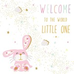 Portfolio Cards SM/New Baby Rabbit Card