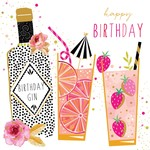 Portfolio Cards SM/Birthday Gin Party Girl Card