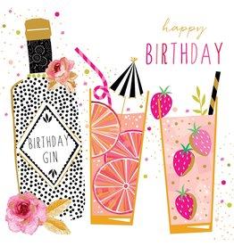 Portfolio Cards SM/Birthday Gin Party Girl Card