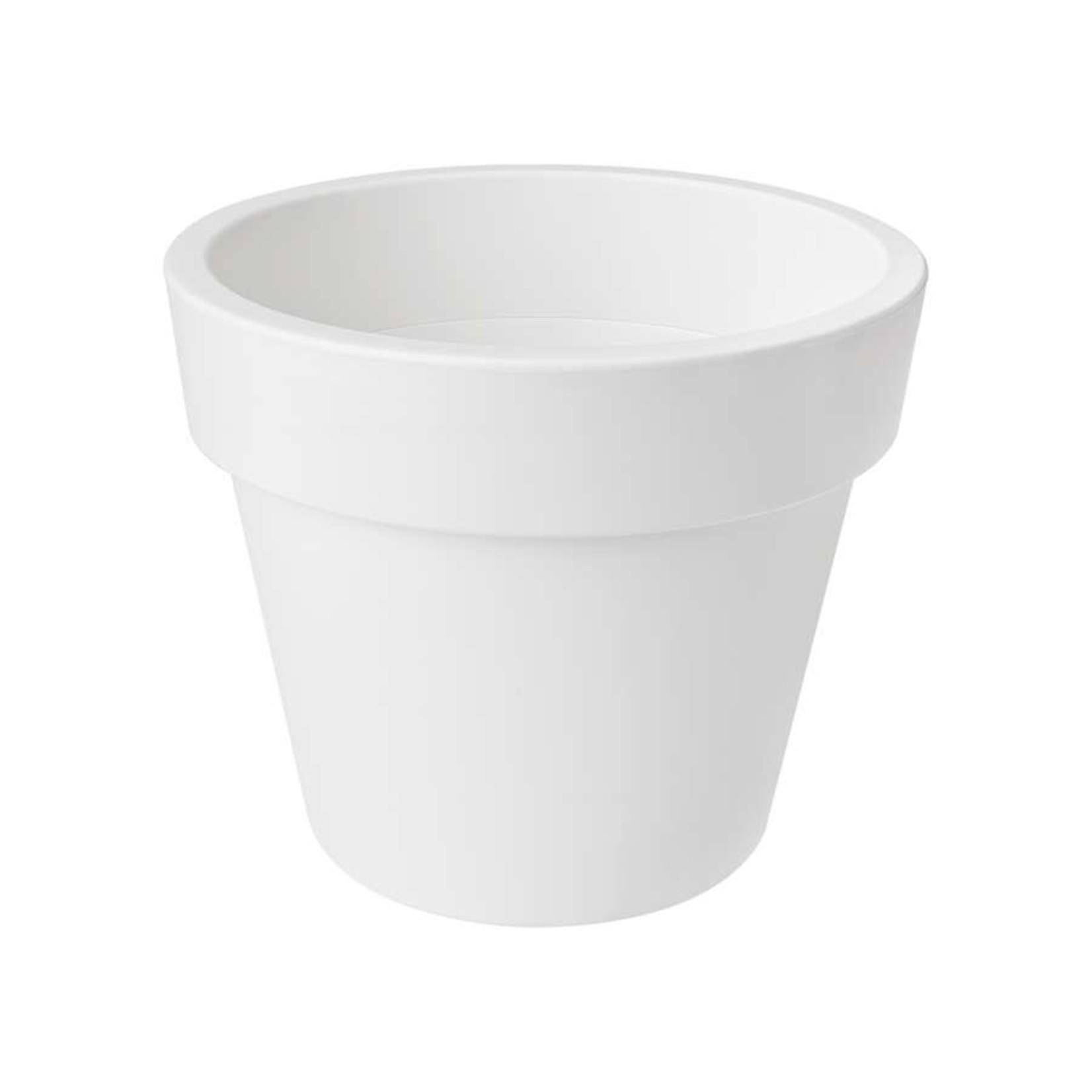 Elho Elho Top Planter 23Cm Cotton White