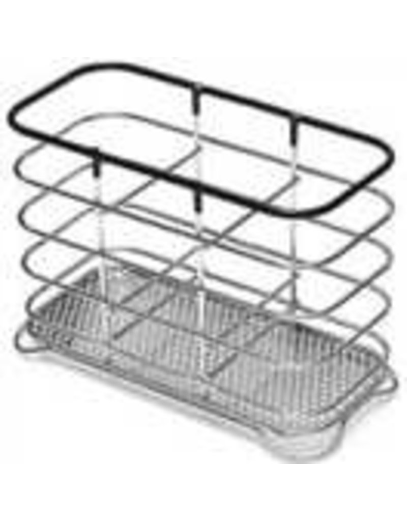 Addis ADDIS WIRE UTENSIL HOLDER BLACK & CHROME