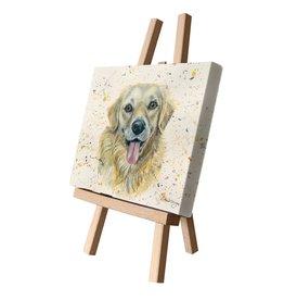 Bree Merryn GWENN CANVAS CUTIE PICTURE 15x20cm - DOG