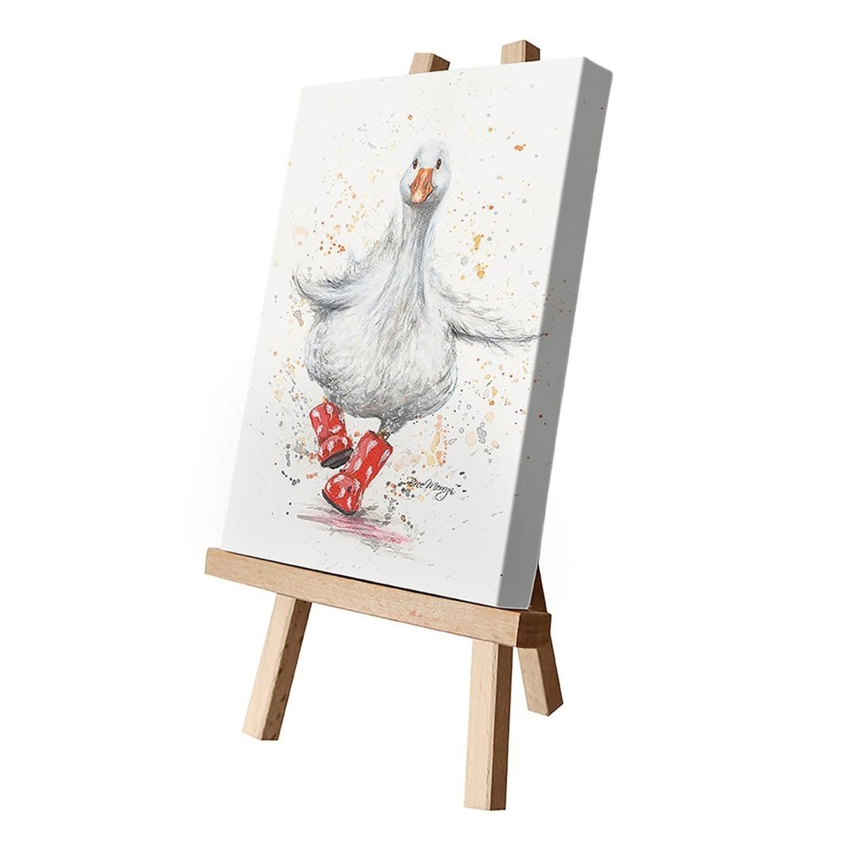 Bree Merryn Daphne in Boots Canvas Cutie 15 x 20 - Duck