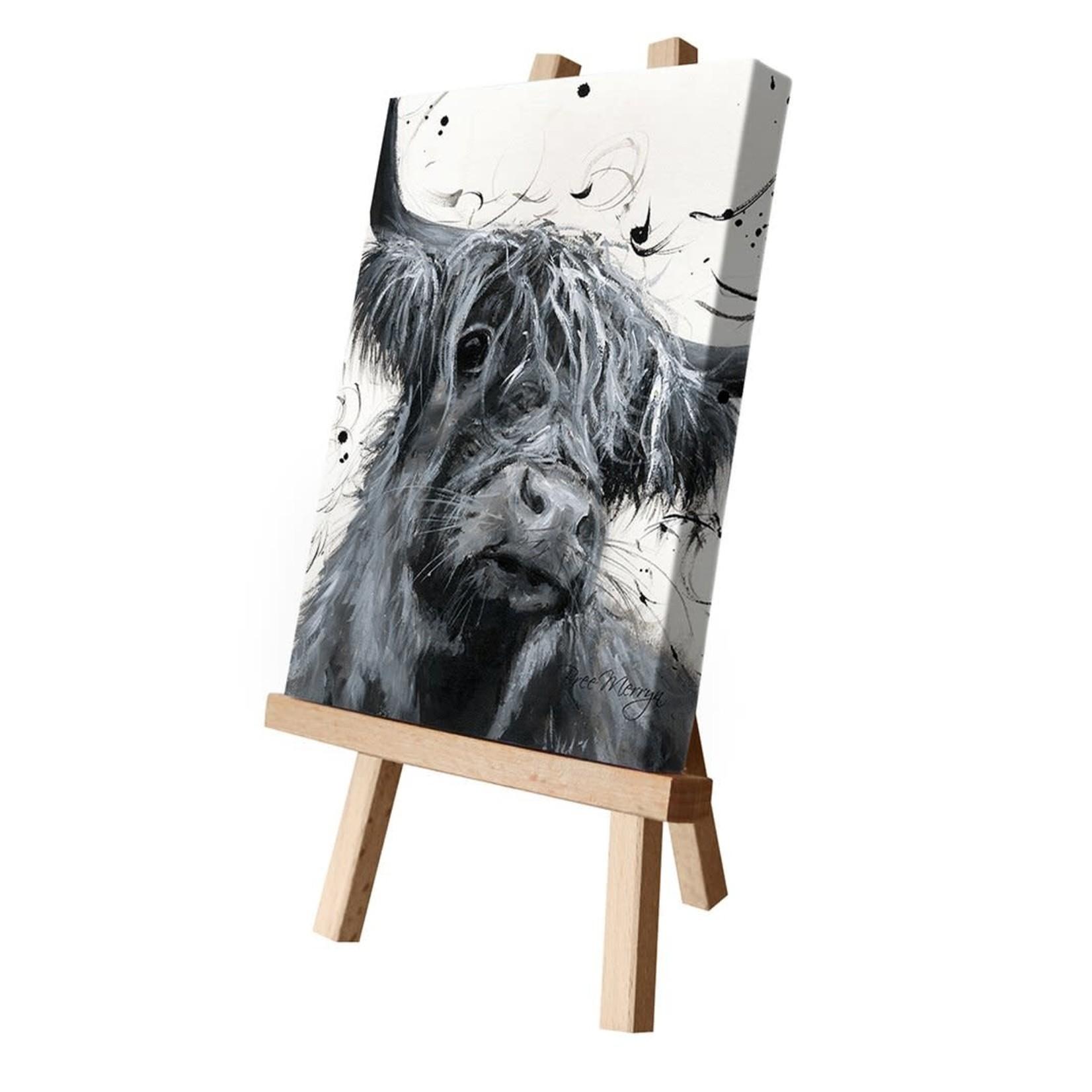 Bree Merryn Dougal Canvas Cutie 15 x 20 - Cow